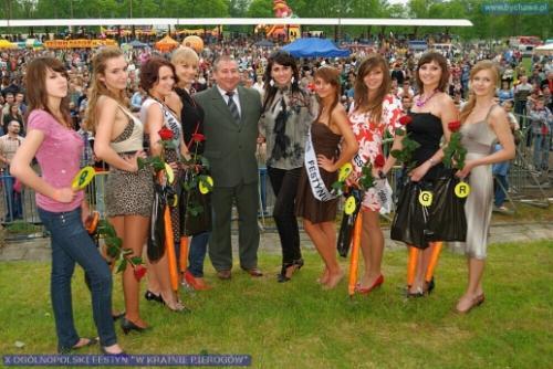 Wybory Miss na Festynie W Krainie Pierogów Bychawa